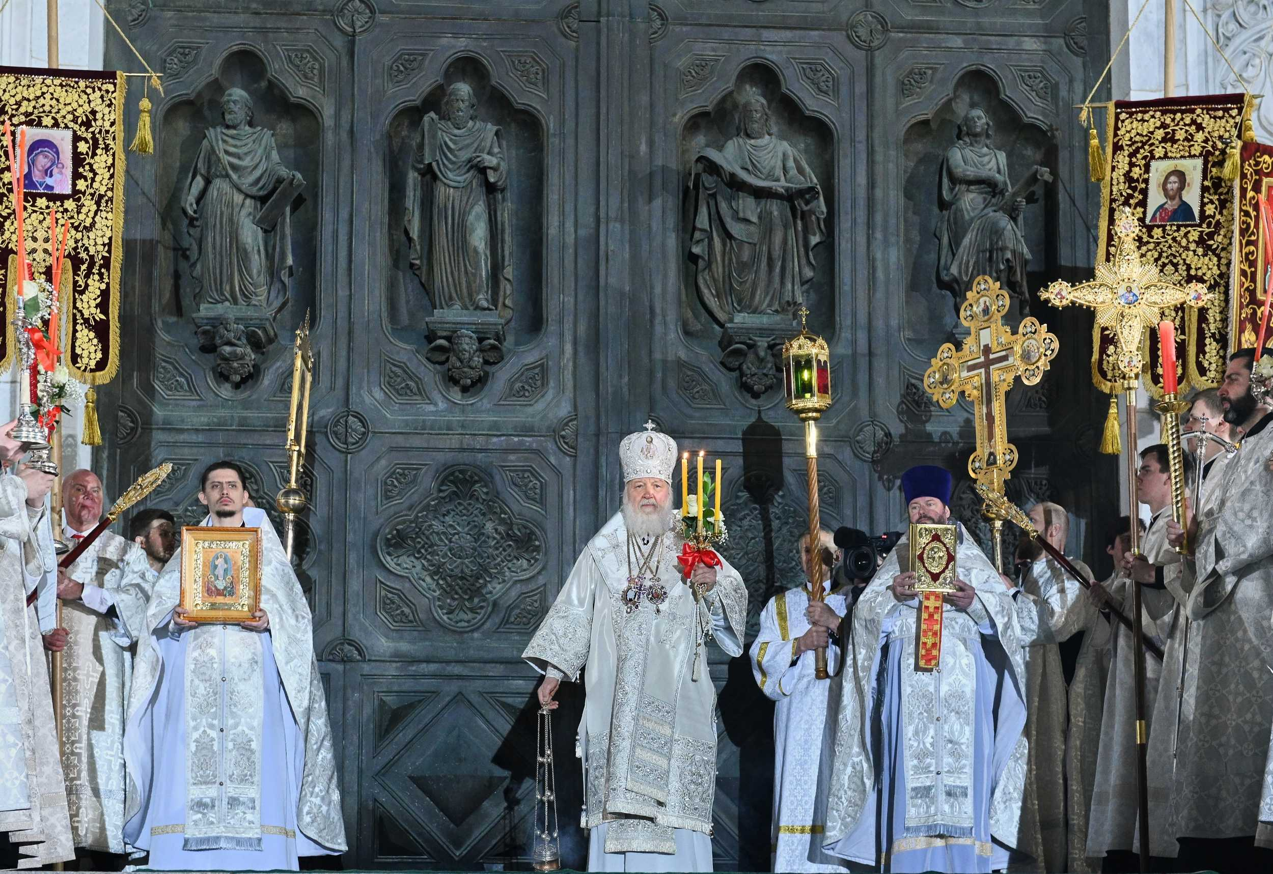 Пасхальные богослужения в ХХС...